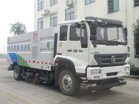 楚飞牌CLQ5161TXS5ZZ型洗扫车