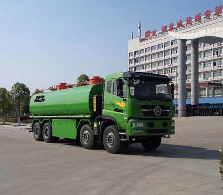 楚飞牌CLQ5310ZWX5ZZ型污泥自卸车