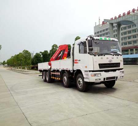 楚飞牌CLQ5310JSQ5HN型随车起重运输车