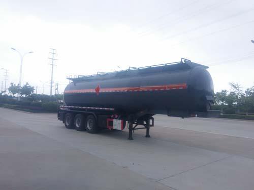楚飞牌CLQ9402GRYB型易燃液体罐式运输半挂车