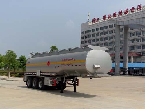 楚飞牌CLQ9400GRYB型易燃液体罐式运输半挂车