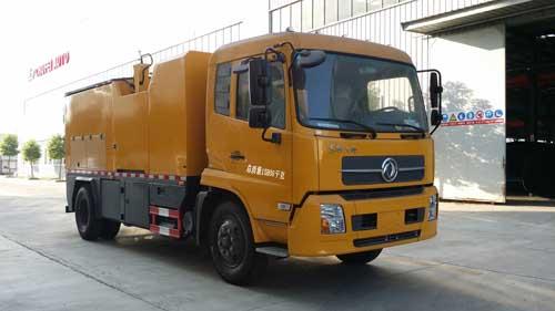 楚飞牌CLQ5160TXB5D型沥青路面热再生修补车